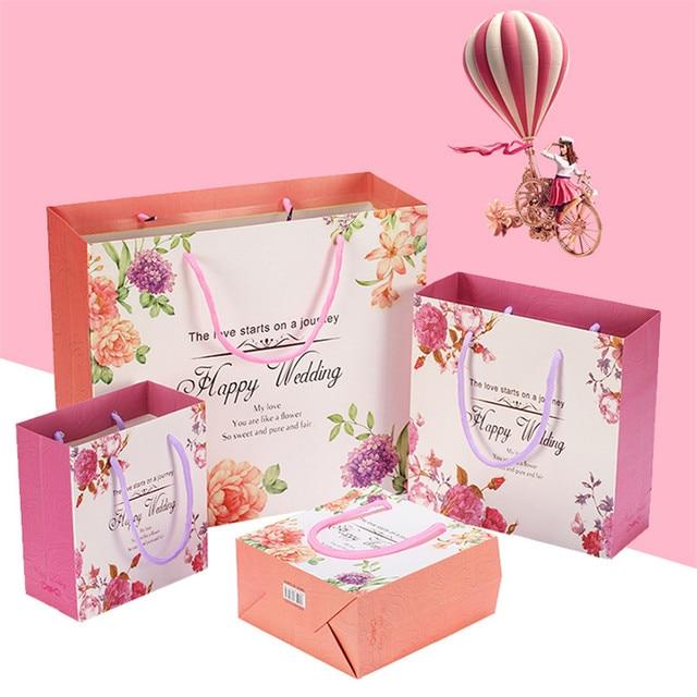 5pcs Lot Literature And Art Small Fresh Bag Baby Full Moon Birthday Gift Custom