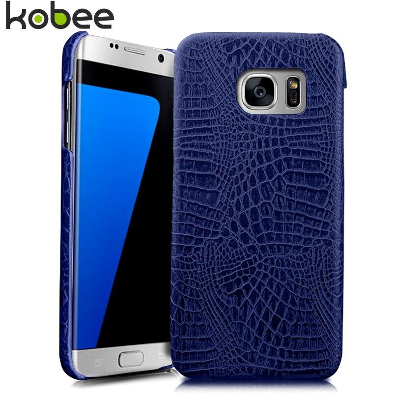Nkobee coque para Galaxy S8 S8 más S7 borde S9 más la caja del teléfono del  cuero 3D cocodrilo cubierta dura para samsung S9 caso b3668dcaebaa4
