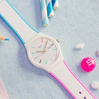 Swatch Watch Classic Color Code Series Quartz Watch GW708