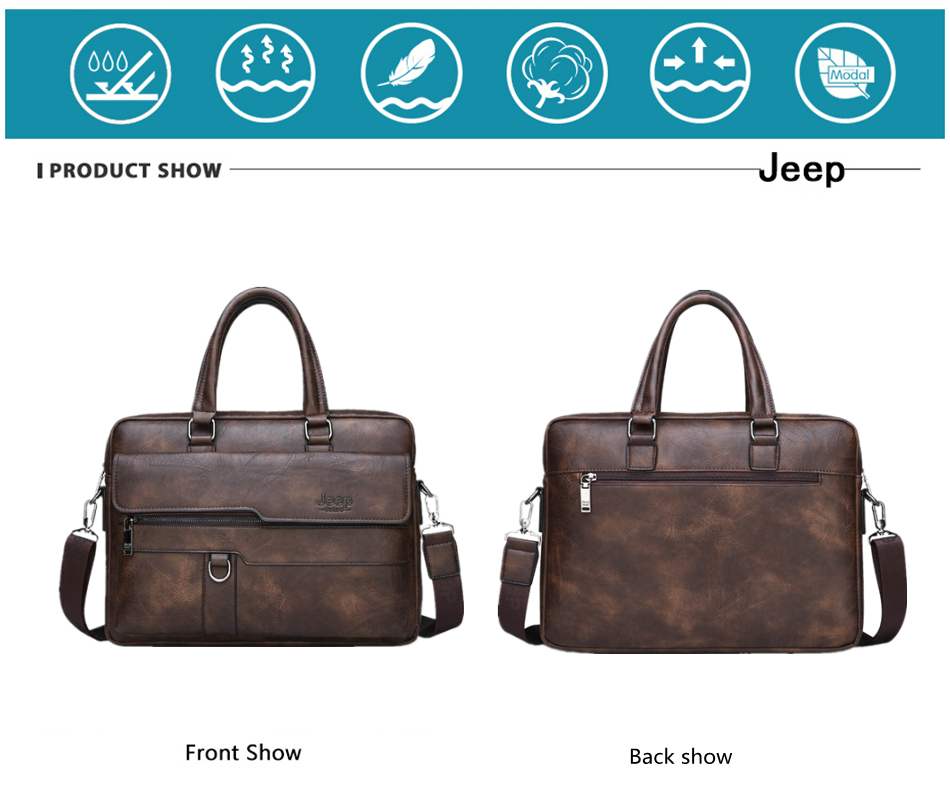 HTB1v3JUXRWD3KVjSZFsq6AqkpXaL JEEP BULUO Brand Man Business Briefcase Bag Split Leather High Quality Men office Bags For 14 inch Laptop A4 File Causel Male