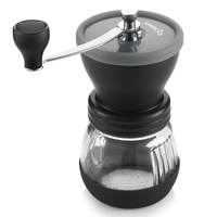 EASEHOLD Manual Ceramic Coffee Grinder ABS Ceramic Core Stainless Steel Burr Grinder Kitchen DIY Mini Manual