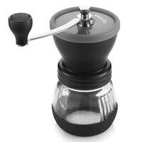 EASEHOLD Manual Ceramic Coffee Grinder ABS Ceramic Core Stainless Steel Burr Grinder Kitchen DIY Mini Manual