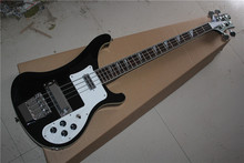 free shipping New Top Quality musical instrument black Color 4 Strings 4003 Rick Electric Bass Guitar 1117