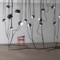 Hot Italy hanging Pendant Lights for Living dining room Bar shop DIY E27 lustre suspension luminaire Pendant Lamp avize fixture