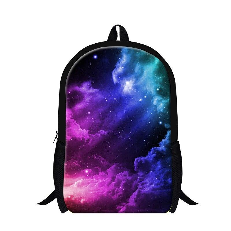 Dispalang 2017 Galaxy printing children backpacks Striped school bookbags for teen girls, womens travling back pack Mochilas