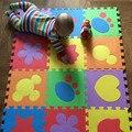 6 PCS Bebê Dos Desenhos Animados Jigsaw Puzzle De Espuma Esteiras EVA Tapetes de Jogo Do Bebê Esteira do enigma de EVA Tapete De Espuma Para As Crianças Brincam Tapete Tapetes Crianças PX09