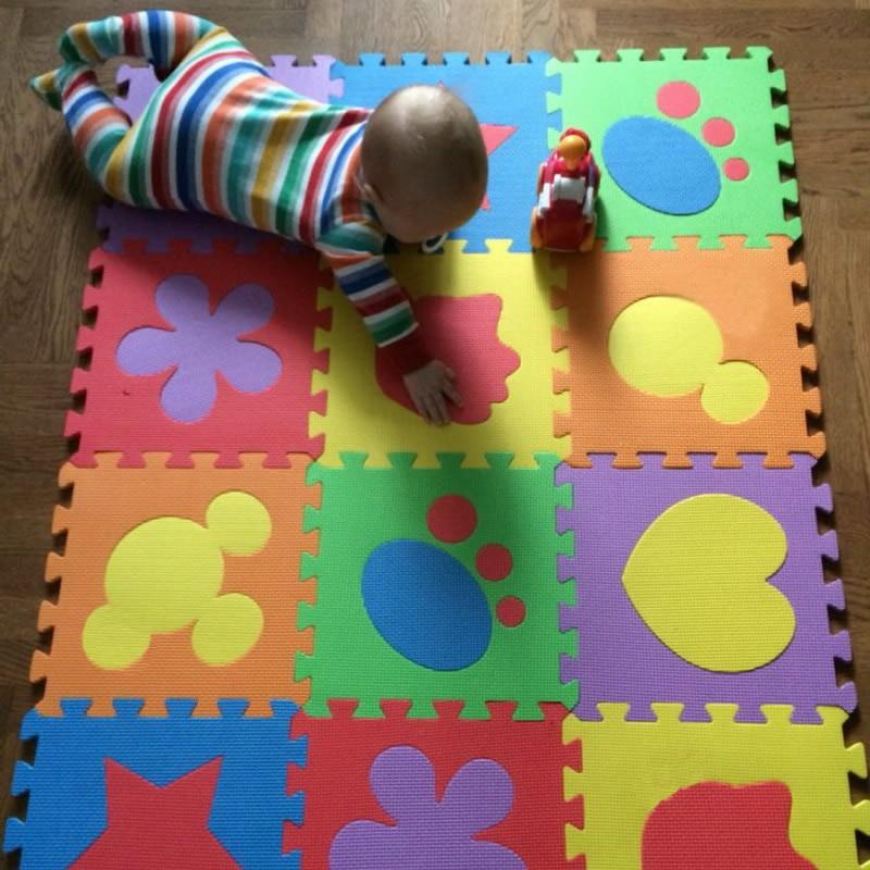 6pcs cartoon baby foam puzzle mats mats eva baby play mats mats jigsaw puzzle mat eva foam. Black Bedroom Furniture Sets. Home Design Ideas