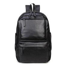 حقيبة مدرسية للنساء مضادة للمياه PU حقيبة ظهر للرجال من الجلد حقيبة ظهر عصرية للسفر حقيبة ظهر للمراهقات