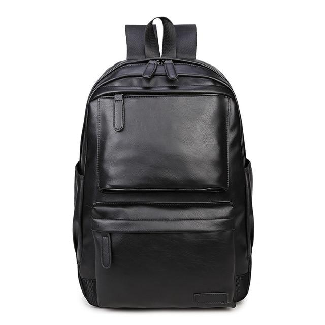 Waterproof Womens bag Schoolbag PU leather Female Male Backpack Fashion Travel a Bag Pack for Teenage Girls Rucksack Mochila