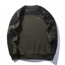 Men Autumn Camouflage Long Sleeve Hoodies Male Army Military Sweatshirt 2018 New Hip Hop Fleece Cotton Hoodie