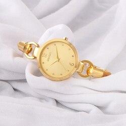 Luksusowe markowy diament moda Quartz kobiety bransoletka do zegarka panie zegarek wodoodporna stal nierdzewna zegarek Feminio Relogio