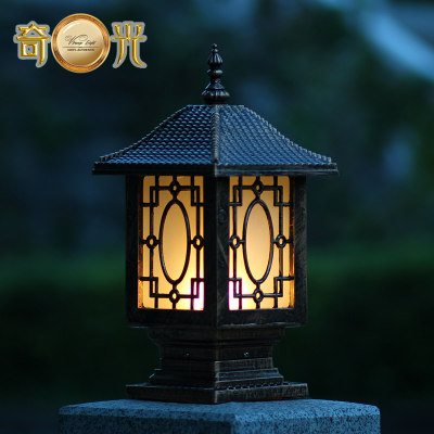 Amazing Chinese Traditional Lantern Decorative Aluminum Spotlight Fitting Outdoor  Lamp Post Lights Garden Columns Pillar Wall Mount