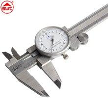 Big discount 6″ 0-150mm/0.02 Dial Caliper Shock-proof  Stainless Steel Vernier Caliper Measurement Gauge  Metric Measuring Tool