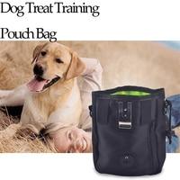 Perro Tratar Bolsa Bolsa de Entrenamiento con Una Función de Dispensador de Bolsas de Residuos Deluxe Diseño Perfecto de Llevar Mascotas Juguetes Trata de Cintura y Hombro Str