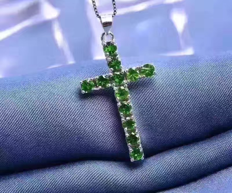 Online get cheap green peridot cross pendant aliexpress mozeypictures Image collections