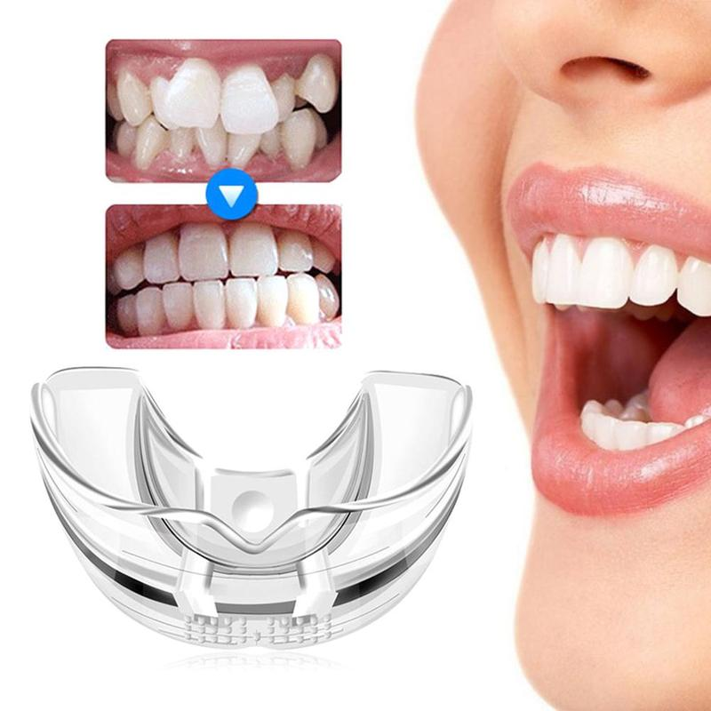 3 Phase Dental Orthodontic Teeth Corrector Braces Tools Tooth Retainer Straighten Tools Teeth Capped Transparent Tooth Corrector