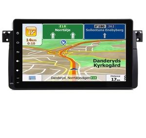 Image 5 - Autoradio à écran tactile HD 9 pouces, Android 9.0, lecteur DVD, avec Wifi, 3G, GPS, Bluetooth, RDS, commandes au volant, cartes, pour voiture BMW E46 M3