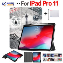 Cover Case for IPad Pro 11 Inch Cover Funda Tablet PU Leathe
