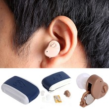 Fashion Hot Portable Small In The Ear Invisible Best Sound Amplifier Ear Care Adjustable Tone Hearing Aids Aid