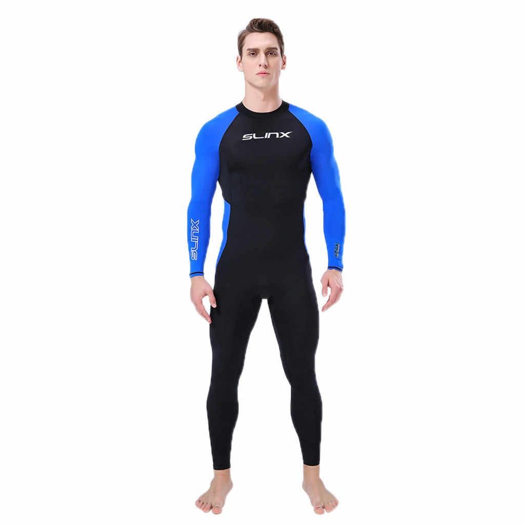 a32309b2c348 Men Diving Suit Full Body Scuba Wetsuit Surf Swimming Lycra Short Sleeve  Triathlon Wetsuit Men Women
