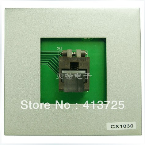 Sirte special adapter block SOP16 CX1030 burn test import block adapter ic51 0562 1387 adapter tsop56 test burn