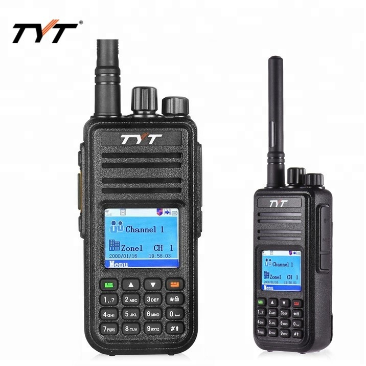 TYT MD 380 Walkie Talkie DMR Digital VHF UHF long range Two Way Radio 5 watts