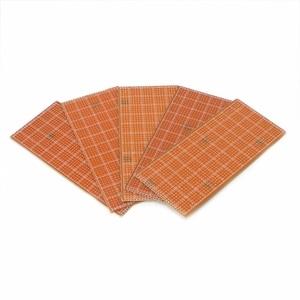 5 Pcs 6.5x14.5cm Stripboard Veroboard Prototype Printed Circuit Uncut PCB Platine Single Side Circuit Board(China)