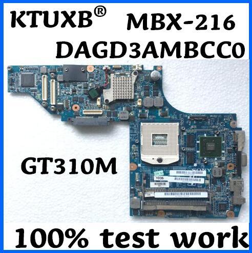 DAGD3AMBCC0 MBX 216 for Sony VPCS115EC PCG 51112M PCG 51113M notebook motherboard PGA989 HM55 GT310M 100