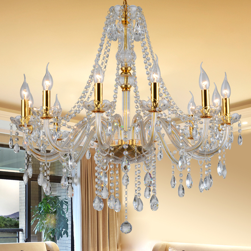 modern cheap crystal chandeliers lighting glass chandelier hanging