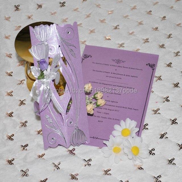 60 Stkspartij Violet Kleur Paars Kleur Christian Scroll Bloem En