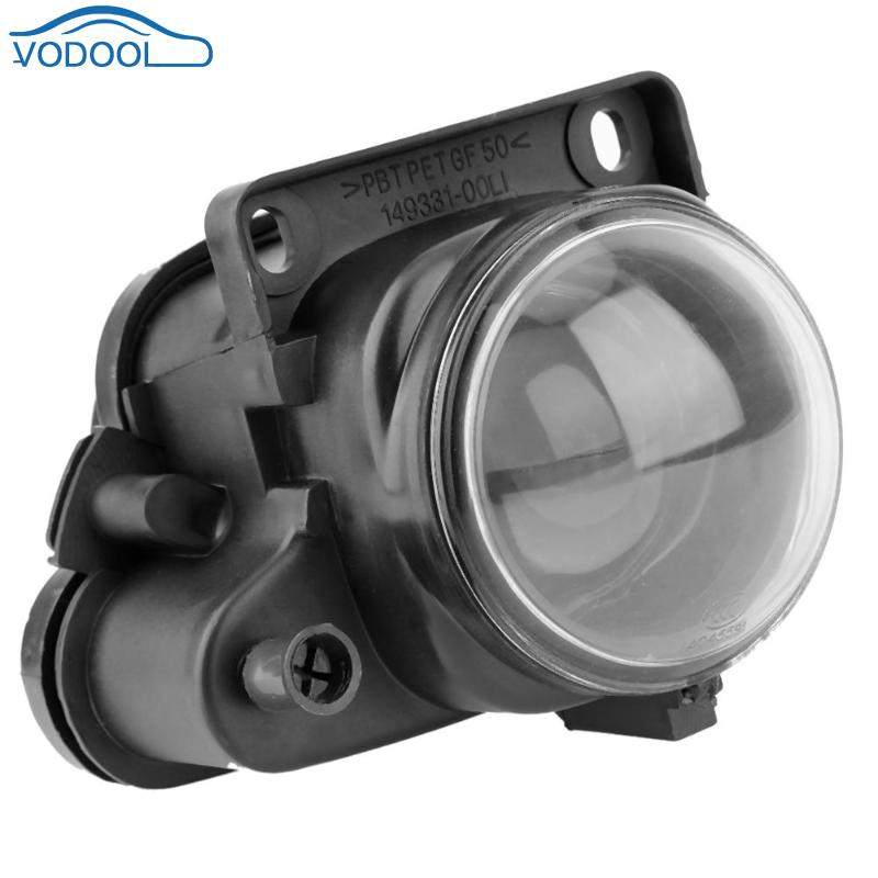 VODOOL Automobile Front Bumper Left Side Fog Light Lamp For AUDI A6 C5 V6 98-02 4B0941699 Car Styling Accessaries