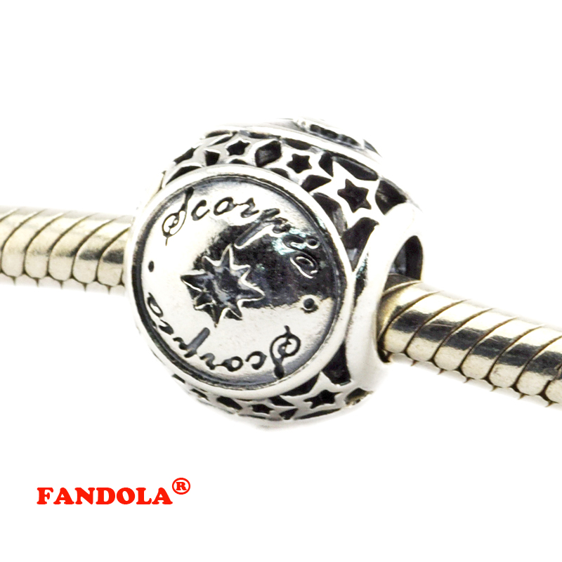 charm pandora scorpione