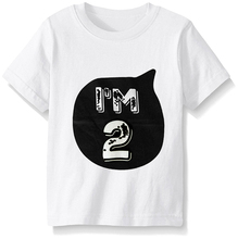 Infant Toddler Baby Digital T-shirt Tops Brand Short Sleeve Clothing Children Girl Party Wear Kid Clothes Tees Boys Clothes