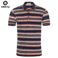 2015 New Hot Sale Men's Brand Polo Shirt Famous Brand Fashion Cool Short Cotton Slim Striped Contrast Color Free Shipping