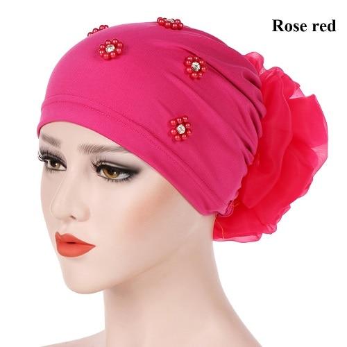 rose red Hijabs
