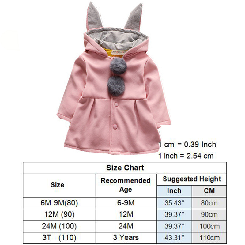 c8b49fd2bd18 2018 New Baby Jacket Winter Outerwear Thick Girl Clothing Children ...