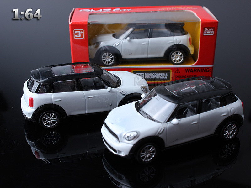 Rmz Brand 1 64 Alloy Mini Cooper Car Model Exquisite Art Car Toy Ce