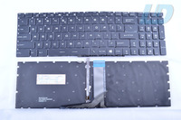 For MSI GT72 GS60 GS70 WS60 GE72 GE62 Backlit Keyboard US