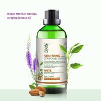 Cosmetics Whole body dredge meridian massage, scraping essence oil compound products essential oil 100 ml/ bottle