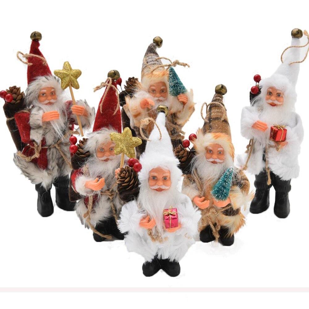 2018 Christmas Santa Claus Dolls Toy Christmas Decorations