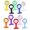 Festina часы Медсестер Часы Врач портативный Брелок Часы Броши Силиконовые Мундир Батареи Медсестра Кварцевые Часы с Зажимом
