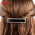Fresh Solid Acetate Hair barrettes for Women Girls Hair clips Acrylic Patchwork Hairpins Fashion Headwear Hairgrip Accessories