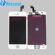 Для iPhone 5S 5th ЖК-дисплей + сенсорный экран планшета Ассамблея Запасные части для iphone 5S 5th ЖК-экран белый/черный
