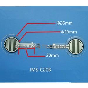 Image 3 - 1/2/10/20/50/10/150 kg sensor de pressão de filme IMS C20B sensor de pressão resistiva fsr uso para palmilha sola robótica