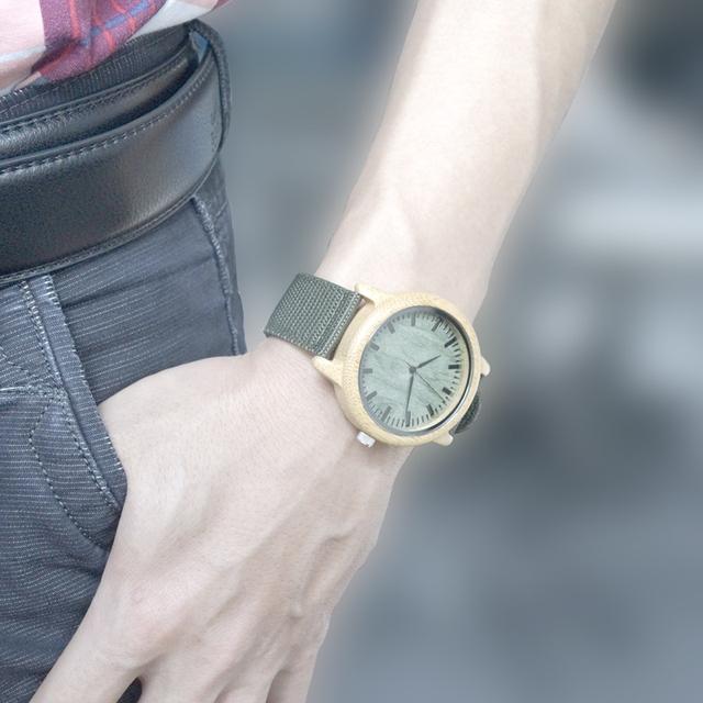 Nailon Wood Watch
