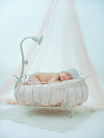 newborn photography props baby bathtub shower posing theme interior and exterior scenery iron bathtub baby shower props