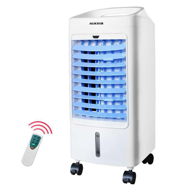 Aux Remote Control Cooler Air Cooling Fan Portable Room Air Conditioning Fan  Floor Standing Electric Fan