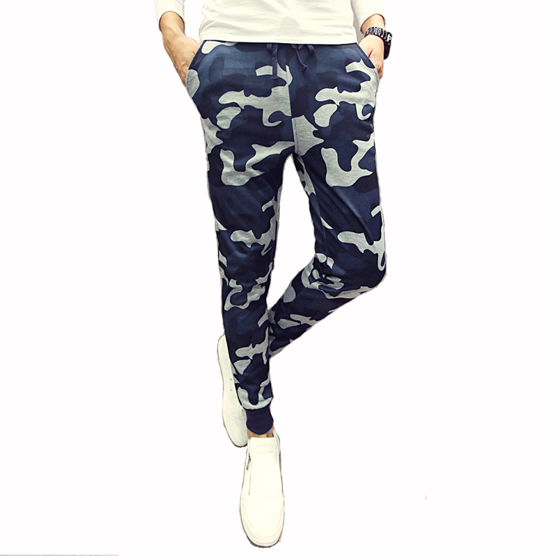 Mens Joggers Pants New Hip Hop2016 Men Pants Camouflage Pencil Pants Skinny Sweatpants Trousers Man Camo Joggers