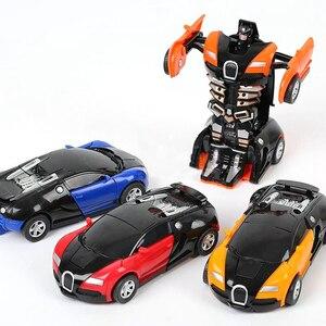 Image 5 - Transformatie Speelgoed Auto Botsing Transforming Robot Model Auto Speelgoed Mini Vervorming Auto Inertiële Speelgoed Beste Voor Kinderen Jongen Gift