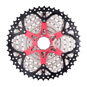 Image 3 - ZTTO 9 Speed 11 46T MTB Bicycle Cassette with Chainwheel Mountain Bike Wide Ratio Sprockets 9s k7 9speed Freewheel